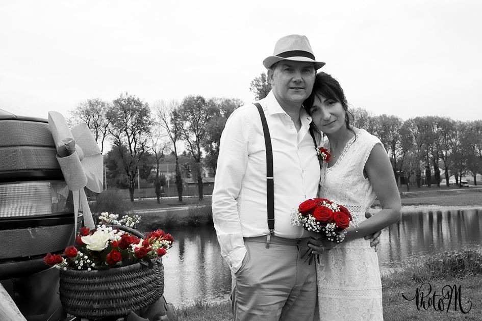 Photographie de mariage. Département de l'Ain, à St Jean le Vieux proche d'Ambérieu-en-Bugey, Bourg-en-Bresse, Lagnieu, Pont d'Ain