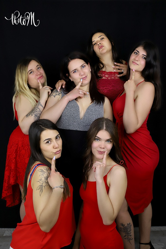 photos entre filles pour un EVJF