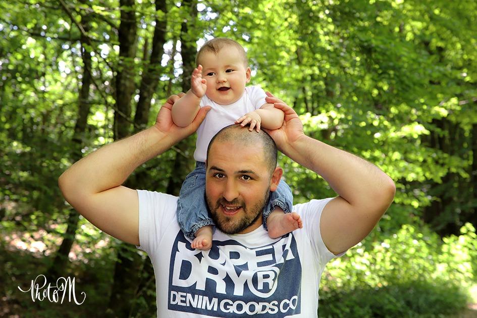 la joie partagée d'un père avec sa fille