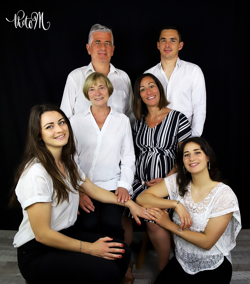 photos de famille qui va bientôt s'agrandir