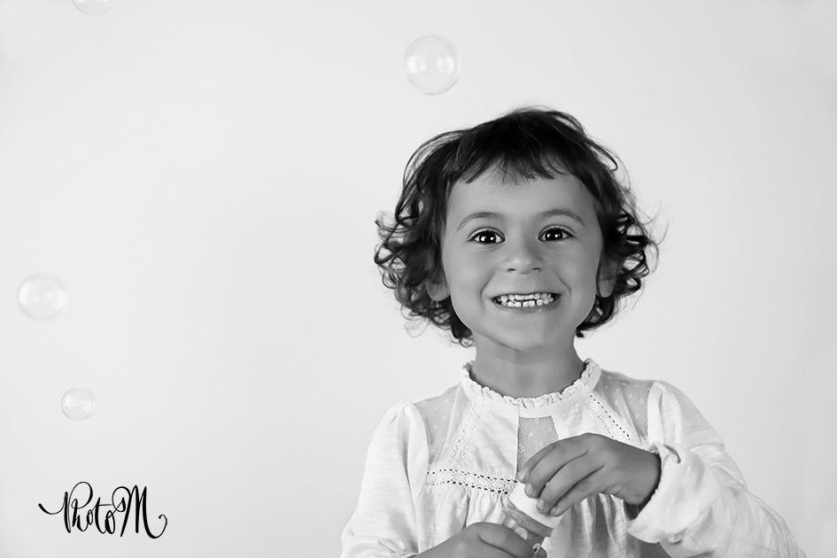 la joie de faire des bulle de savon